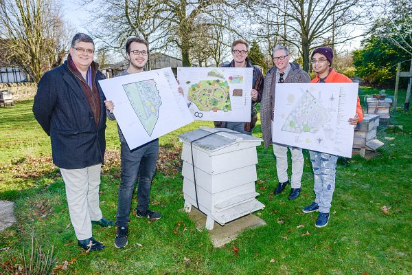 Students reveal plans to transform apiary at Stoneleigh Park