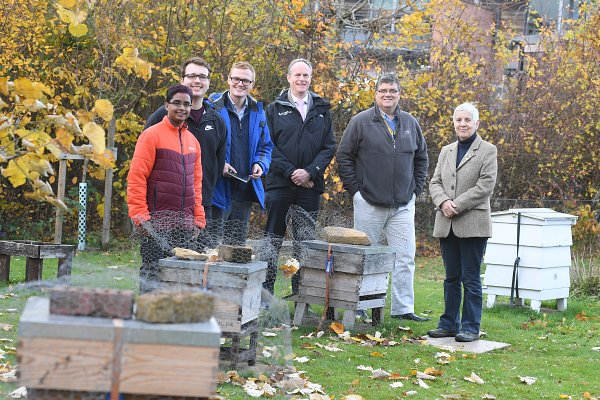 Students transform apiary at National Beekeeping Centre at Stoneleigh Park