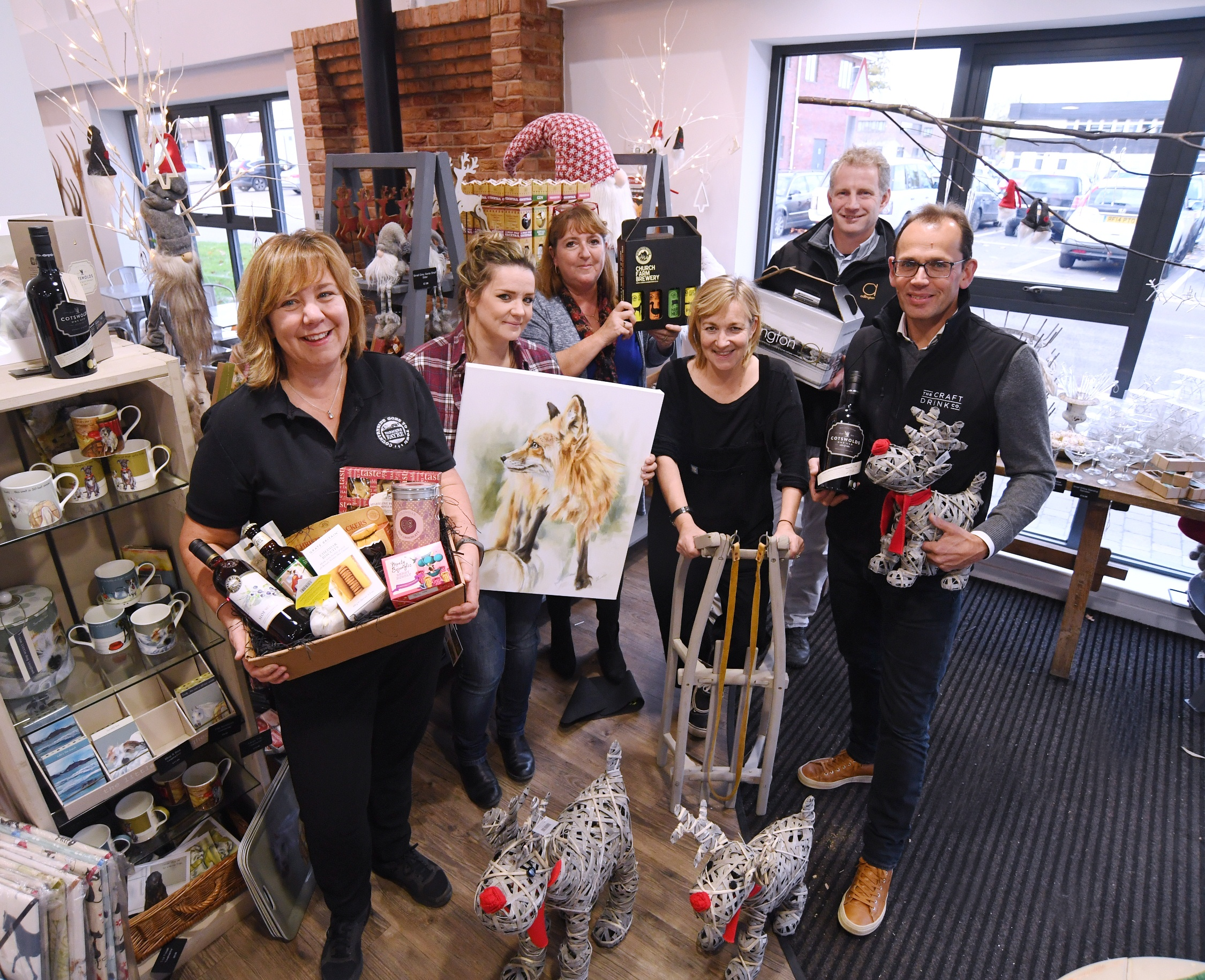 Championing local suppliers at festive fayre